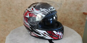 Motorcycle helmet HJC full face