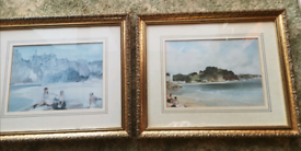 Russel Flint framed art, antique could post if required