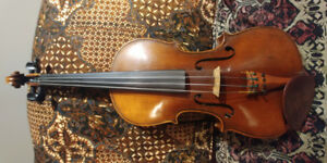 German violin for sale from early 1900s