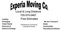 EXPERIA MOVING CO. LOWEST RATES & RELIABLE SERVICE
