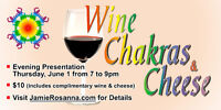 Wine, Chakras and Cheese