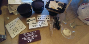 Various Jars / Candy table accessories