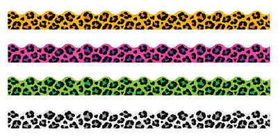 Leopard Spots variety Pack - Trimmers Classroom Notice Board Display Borders