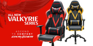 DXRacer, Premium Gaming Chairs, 10% Off + Free Shipping