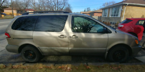 2002 TOYOTA SIENNA LE FOR $2999!