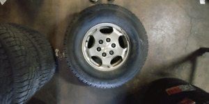 Stock rims with winter tires