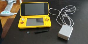 Nintendo new 2ds- édition pikachu