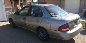 2001 Nissan Sentra XE low Kms!
