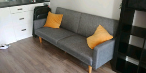 Wayfair sofa bed excellent cond. 1 yr old - non-smoking home