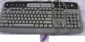 PS2 keyboards, $5 ea - 2 to choose from