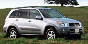 2002 Toyota RAV4 4DR AUTO 4WD  BEING SOLD CERTIFIED
