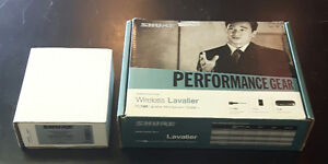 Shure Lavalier and Headset Wireless Microphone System