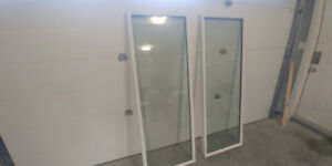 Glass inserts for exterior doors