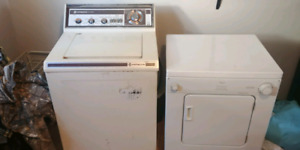 Apt size washer and dryer