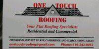 Your flat roof specialists- One Touch Roofing