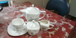 Tea set bone china