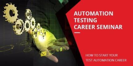 Automation Testing Career Seminar (ATCS)