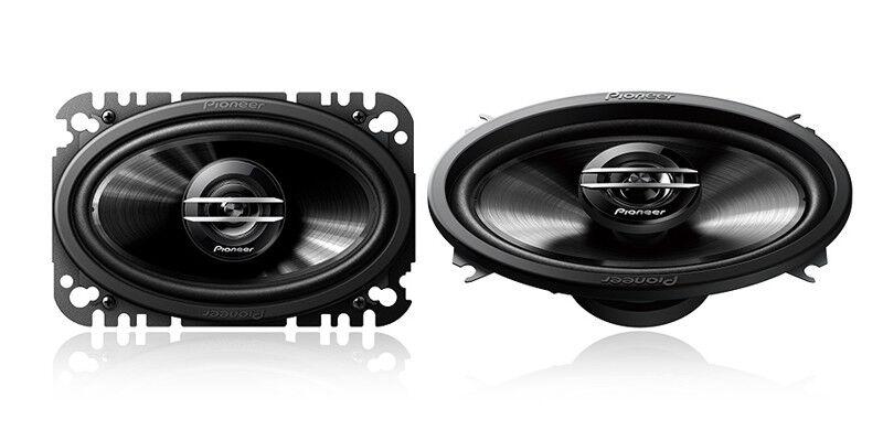 "Pioneer Ts-G4620s G-Series 4"" X 6"" 200-Watt 2-Way Coaxial Sp"