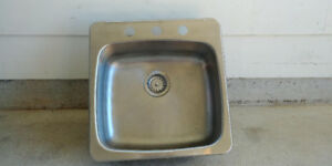 Like-new Stainless Steel Sink - steal!