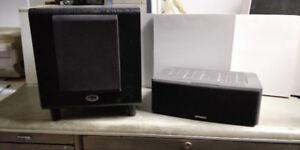 Speaker and Subwoofer For Sale