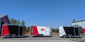 Enclosed Trailers In-Stock Now! | Shay Trailer Sales