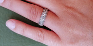 Beautiful Diamond Band for Sale!