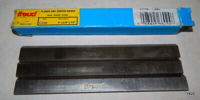 3 Pack Freud Hss Planer Jointer Knives 6 X 58 X 18 C350