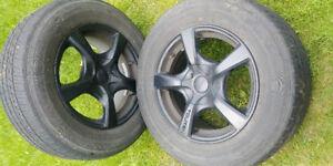 4 Mag. Touren avec pneu