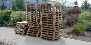 Free pallets for pick up