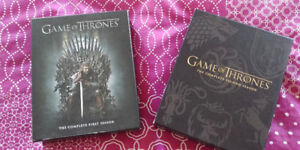 BLU RAY - GAME OF THRONES SEASON 1 AND 2