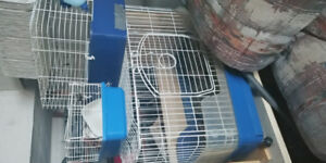 Hamster or guinea pig or bunny cage
