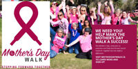 Volunteer for the Mother's Day Walk in Winnipeg on May 5th