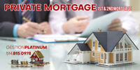 PRIVATE MORTGAGE | FROM $20,000 AND UP | 514-885-0978