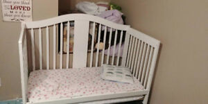 Crib for sale comes with mattress in good condition $125.00