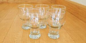 Set of 5 Beer Glasses