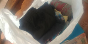 Grocery Bag of Boys Clothes. Sz 4-5