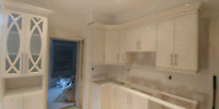Custom Cabinets,Countertops,wall unit,Refinshing