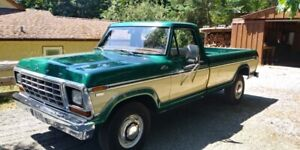 1979 Ford F-350 Camper Special