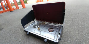 Portable Camping propane cook stove New Never-used