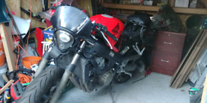 CBR 600 F4i 2002 Honda Low Mileage