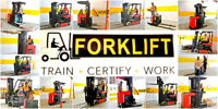 Forklift Jobs + Training  + Licence - Earn $14-$20 per  hour
