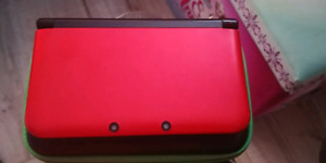 Red Nintendo 3DS XL