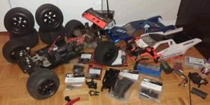 HPI D8T Hot bodies racing truggy