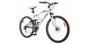 "CCM Alpine 26"" Full Suspension Mountain Bike 18"" Aluminum Frame"
