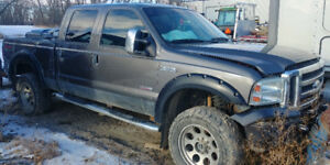 Parting out 2006 F350 Super Duty Ford Diesel