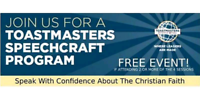 Speak with Confidence About the Christian Faith (FREE EVENT)