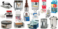 FUN  FOOD MACHINES FOR RENT
