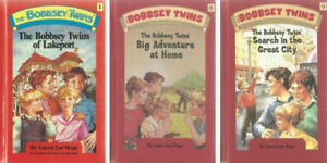3 BOBBSEY TWINS Hardcover BooksIn excellent used condition.P