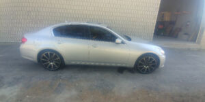 2012 Infiniti g37x with performance. Parts