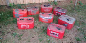 Outboard  gas cans